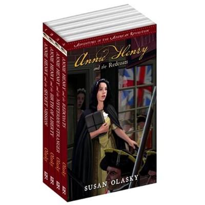 Adventures in the American Revolution 4 Volume Set (Paperback)