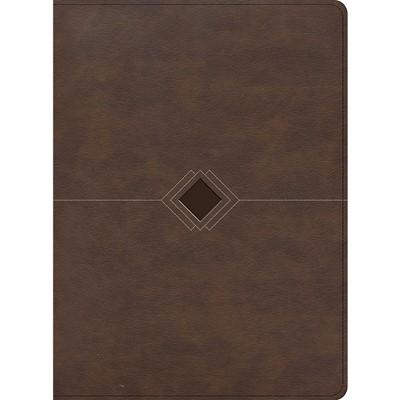 RVR 1960 Biblia Cronológica, Día a Día, Marrón Símil Piel (Imitation Leather)