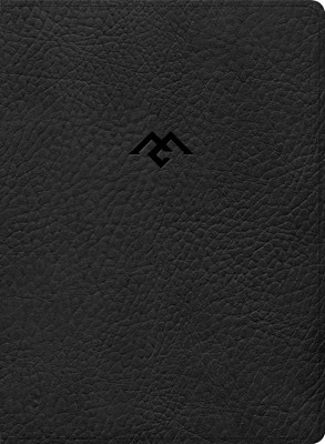 CSB Men of Character Bible, Black LeatherTouch (Imitation Leather)