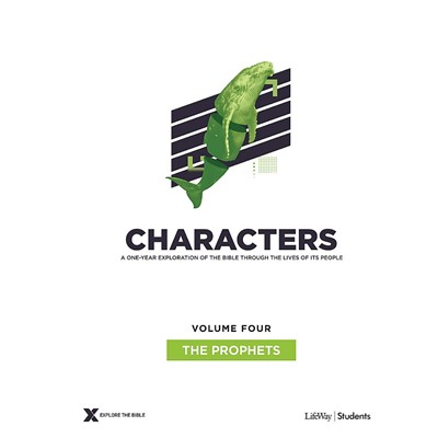 Characters Volume 4: Teen Study Guide (Paperback)