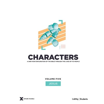 Characters Volume 5: Teen Study Guide (Paperback)