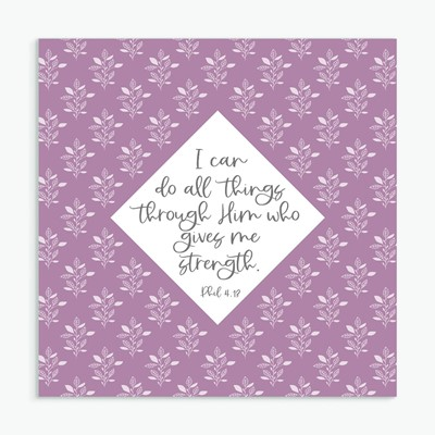I Can Do All Things Greeting Card (Cards)