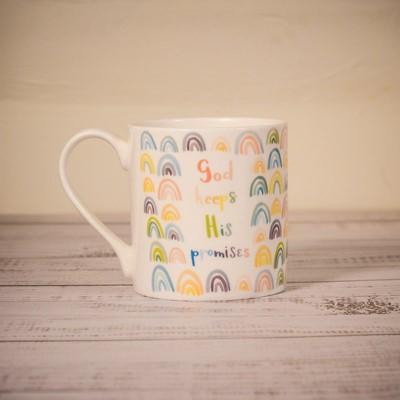 God Keeps His Promises Fine Bone China Mug (General Merchandise)
