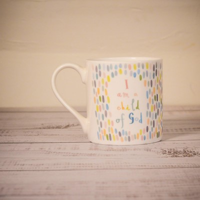 I Am a Child of God Fine Bone China Mug (General Merchandise)