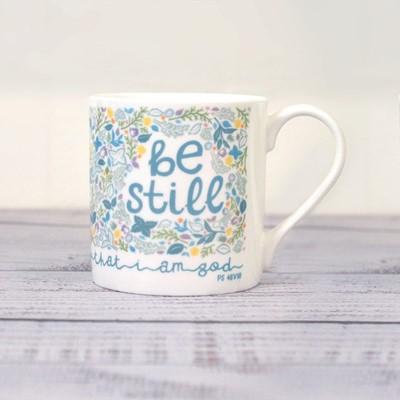 Be Still Fine Bone China Mug (General Merchandise)