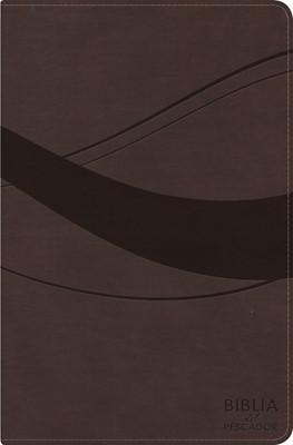 RVR 1960 Biblia del Pescador Letra Grande, Cafe Símil Piel (Imitation Leather)