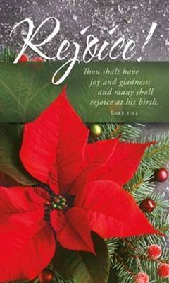 Rejoice! Christmas Bulletin (pack of 100) (Bulletin)