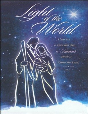 Light of the World Large Bulletin (pack of 100) (Bulletin)