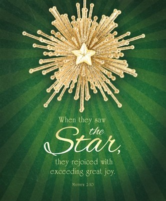 When They Saw the Star Large Bulletin (pack of 100) (Bulletin)