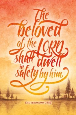Beloved of the Lord Bulletin (pack of 100) (Bulletin)