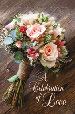 May Your Constant Love Be With Us Bulletin (pack of 100) (Bulletin)