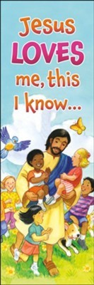 Jesus Loves Me This i Know Bookmark (pack of 25) (Bookmark)