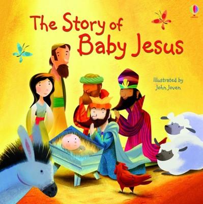 Usborne Story of Baby Jesus (Paperback)