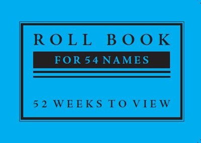 SS10 Sunday School Roll Book (54 Names) (Paperback)