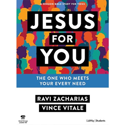Jesus For You Teen Bible Study Leader Kit (Kit)