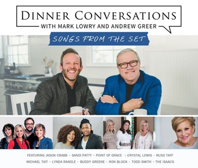 Dinner Conversations with Mark Lowry and Andrew Greer CD (CD-Audio)