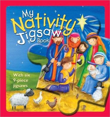 My Nativity Jigsaw Book (Board Book)