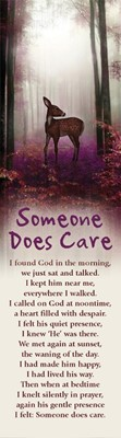 Someone Does Care Bookmark (Pack of 10) (Bookmark)