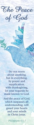 Peace of God Bookmark (Pack of 10) (Bookmark)