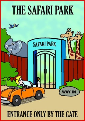 Tracts: Safari (Pack of 50) (Tracts)