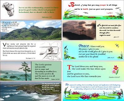 48 Assorted Evangelistic and Encouraging Bookmarks (Bookmark)