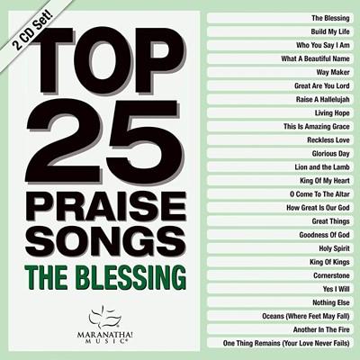 Top 25 Praise Songs: The Blessing CD (CD-Audio)
