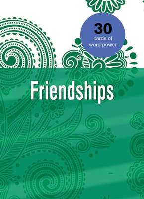Word Power Cards: Friendship (Cards)