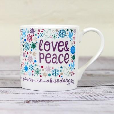Love and Peace Christmas Mug (General Merchandise)