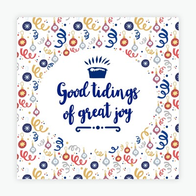 Good Tidings of Great Joy Christmas Cards (pack of 10) (Cards)