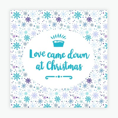 Love Came Down Christmas Cards (pack of 10) (Cards)