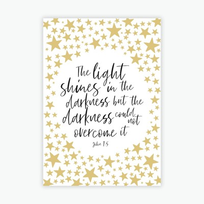 The Light Shines Mini Card (Cards)