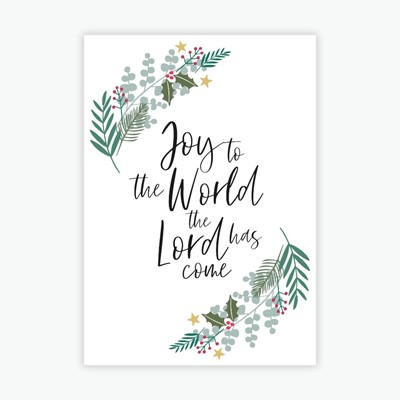 Joy to the World Christmas Magnet (Magnet)