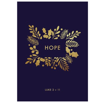 Hope Christmas Cards (pack of 6) (Cards)