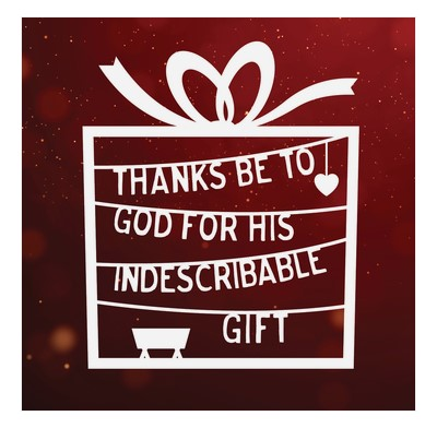 Thanks Be to God Christmas Cards (pack of 6) (Cards)