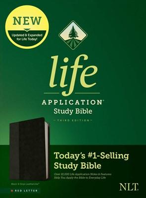 NLT Life Application Study Bible, Third Edition, Black (Imitation Leather)