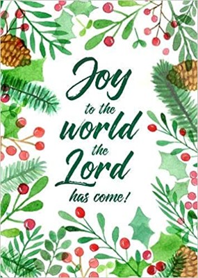 Joy to the World Christmas Cards (pack of 6) (Cards)