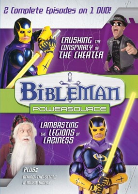 Bibleman Powersource Vol. 9: Curshing The Conspiracy Of The (DVD Video)