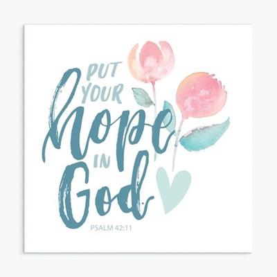 Put Your Hope in God Greeting Card (General Merchandise)