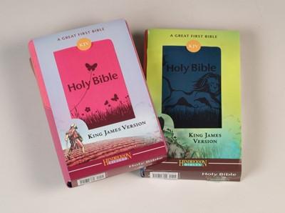 KJV Kid's Bible, Blue (Hard Cover)