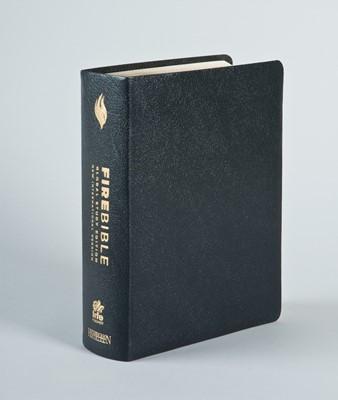 NIV Fire Bible Global Study Edition, Black (Bonded Leather)