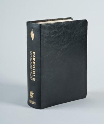 NIV Fire Bible Global Study Edition (Genuine Leather)