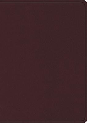ESV Study Bible, Large Print, Burgundy (Bonded Leather)