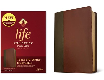 NIV Life Application Study Bible, Third Edition (Red Letter, (Imitation Leather)