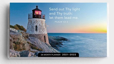 2021 28-Month Planner: Lighthouse (Paperback)