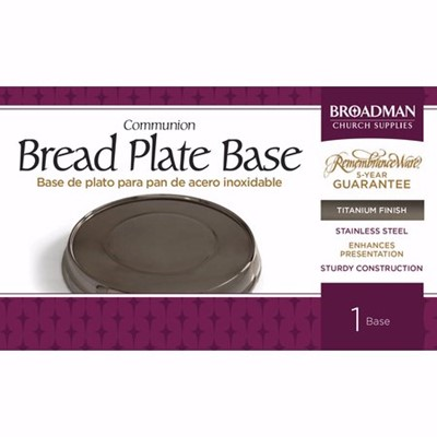 Titanium Stacking Bread Plate (General Merchandise)