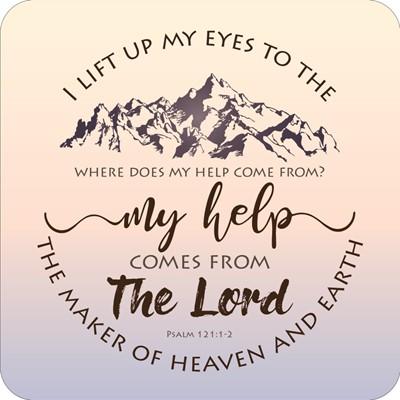 I Lift Up My Eyes Coaster (General Merchandise)