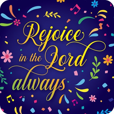 Rejoice in the Lord Coaster (General Merchandise)