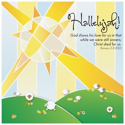 Easter Hallelujah Cards (pack of 5) (Cards)