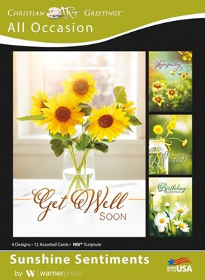 Boxed Greeting Cards - Sunshine Sentiments (Cards)