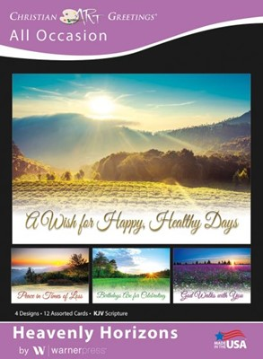 Boxed Greeting Cards - Heavenly Horizons (Cards)